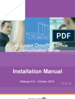 Installation Manual Release 8.0