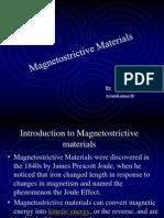 Magnetostrictive materials
