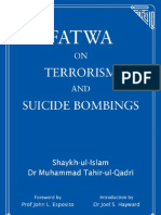 Fatwa on Terrorism and Suicide Bombings (English) - Dr. Muhammad Tahir-ul-Qadri  Shaykh-ul-Islam