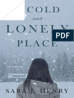 A Cold and Lonely Place by Sara J. Henry - Excerpt