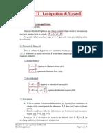 Les Equations de Maxwell