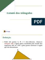 1 ANO - Estudo dos triângulos - 2007