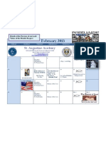 February Calendar 2013