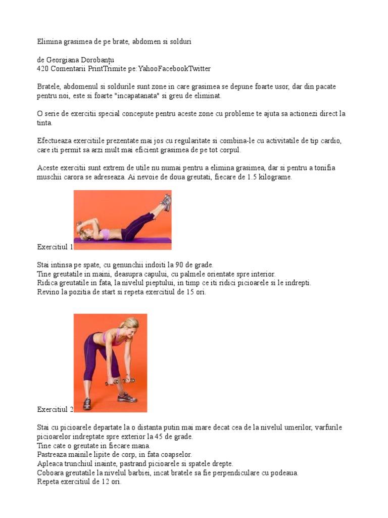 Exercitii pentru solduri si pentru abdomen: cum sa scapi de colacei
