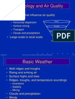 3 Meteorology and Air Quality