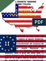 Proiect Istorie SUA-STATELE FEDERALE