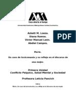 ESTUDIO DE CASO TOXICOMANIA, CASO MARIARev.doc