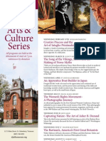 Arts and Culture Series 2013