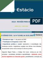 REVISÃO PARA AV1 civil 1 2012.1