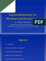 Digital Modulation for Wireless Communications