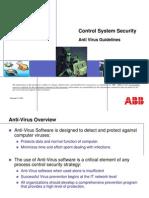 3bur002683 c en Control Systems Security - Anti Virus Guidlines