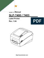 SLP T400 English