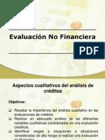 Evaluación No Financiera