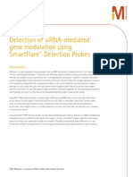 Detection of siRNA-mediated gene modulation using SmartFlare™ Detection Probes