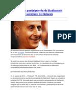 La presunta participación de Radhanath Swami en el asesinato de Sulocan