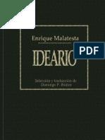 26871354 Malatesta Errico Ideario Ed Publicaciones Mundial 1926