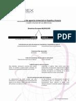 Diferencias entre los contratos de agencia comercial en España y Francia