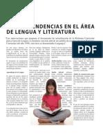 Nuevas tendencias en el área de lengua y literatura