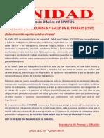 El COMITÉ DE SEGURIDAD Y SALUD EN EL TRABAJO