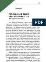 Dubravko Lovrenović - Proglašenje Bosne kraljevstvom 1377.