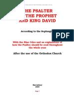 Asser Psalms Septuagint