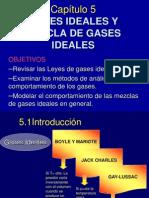 Capitulo 5 (Gases Ideales y Mezclas)