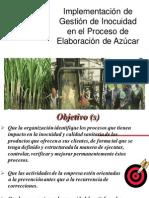 IMPLEMENTACIÓN DE GESTIÓN DE INOCUIDAD EN EL PROCESO DE ELABORACIÓN DE AZÚCAR_XIICONIA2012_UNPRG-LAMBAYEQUE