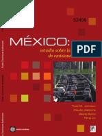México; estudio sobre la disminución de emisiones de carbono
