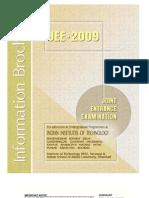 IIT JEE 2009 Brochure