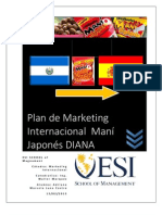 Plan de Marketing Internacionalsnack