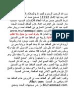 فهذا إكسل 11592 صحيح مسند أحمد بن حنبل على شرط الشيخين