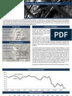 Element Global Opportunities Equity Portfolio - September 2011
