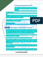 Estructura e Integridad de Una Base de Datos