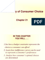 Chap_21 the Theory of Consumer Choice