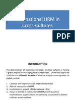 IHRM Cross Culture - 2