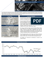 Element Global Opportunities Equity Portfolio - January 2012