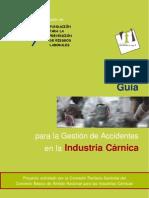 Guia de Gestion de Accidentes en Industrias Carnicas