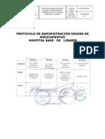 Protocolo Administracion de Medicamentos