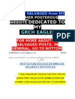 POSTS I SAVED re GO GRCH EAGLES (formerly on posterous website)