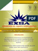 OPERACIÓN DEL SISMÓGRAFO I
