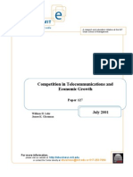 127 Lehr, Competition in Telcommunications
