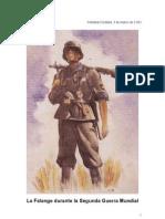 La Falange durante la Segunda Guerra Mundial