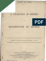 Russia No 1 Reports 1919