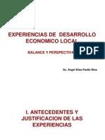 Experiencias DEL-Angel Paullo