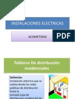 PRESENTACION INSTALACIONES ELECTRICAS