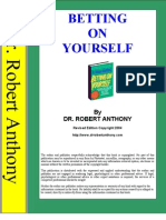 86667999 Betting on Yourself by Dr Robert Anthony