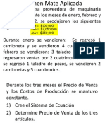Examen 2 de Matrices PYMES