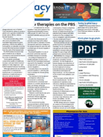 Pharmacy Daily for Wed 20 Feb 2013 - New therapies on PBS, Patent controversy, Calcium, Masterson steps down and much more...