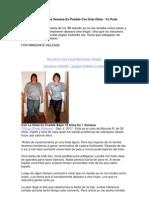 Bajar 10 Kilos en Una Semana Es Posible Con Esta Dieta