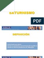 Intoxicacion Plomo - Saturnismo